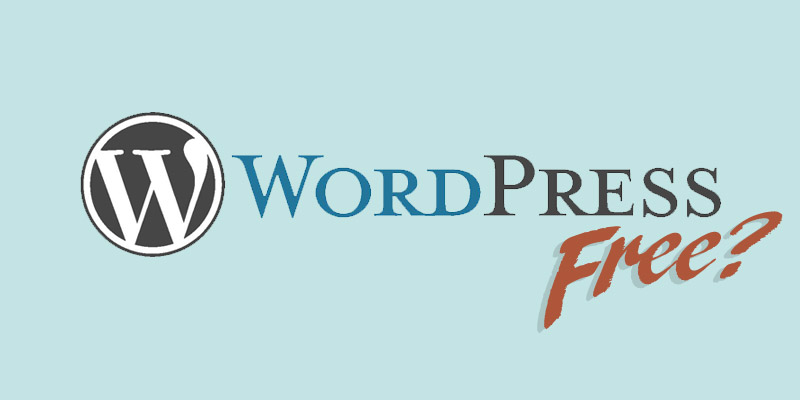 Is WordPress free?