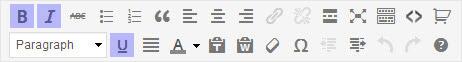 WordPress Bold