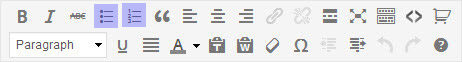 WordPress Bullets